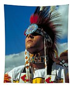 An American Indian No1 Tapestry