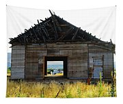 An Empty Barn  Tapestry
