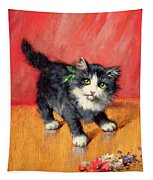 An Innocent Look  Tapestry