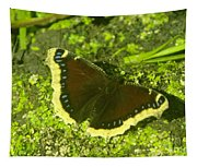 An October Butterfly  Tapestry