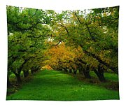 An Orchard Row  Tapestry