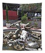 Andrea's Fountain At Ghirardelli Square Tapestry