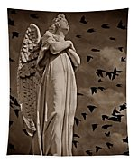 Angel Of Stone S Tapestry