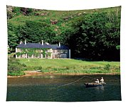 Angling, Delphi Lodge, Co Mayo, Ireland Tapestry