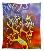Ankh Roots Tapestry