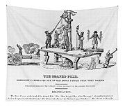 Anti-democrat Cartoon Tapestry