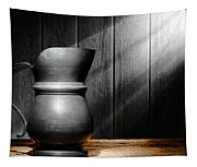 Antique Pewter Pitcher Tapestry