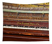 Antique Piano Tapestry