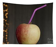 Apple With Straw Tapestry