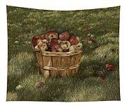 Apples In Basket Tapestry