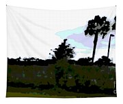 Approaching Storm Tapestry
