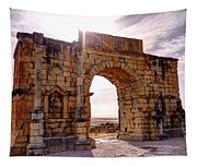 Arch Of Triumph Tapestry