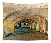 Arched Walkway In Provence Tapestry