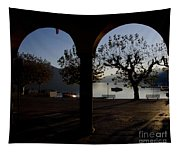 Archs And Trees Tapestry