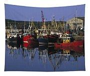 Ardglass, Co Down, Ireland Fishing Tapestry