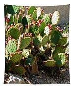 Arizona Prickly Pear Cactus Tapestry
