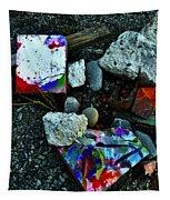Art Amongst The Rubble Tapestry