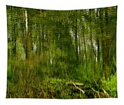Artistic Water Reflections Tapestry