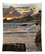 At The Edge Of The World Tapestry