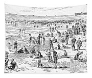 Atlantic City, 1890 Tapestry
