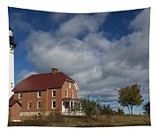 Au Sable Lighthouse 2 Tapestry