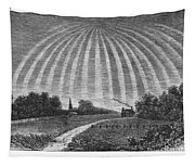 Aurora Borealis, 1837 Tapestry