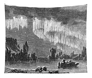Aurora Borealis, 1868 Tapestry