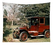 Auto: French Taxi, 1908 Tapestry