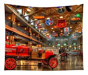 Automobile Paradise Tapestry