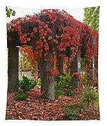 Autumn Arbor In Grants Pass Park Tapestry