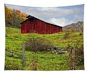 Autumn Barn Tapestry