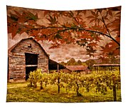 Autumn Cabernet Tapestry