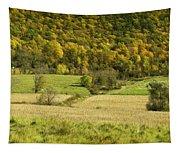 Autumn Farm Vista Tapestry