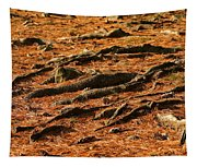 Autumn Forest Floor Tapestry