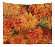 Autumn Garden Impressions Tapestry
