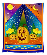 Autumn Greetings Tapestry