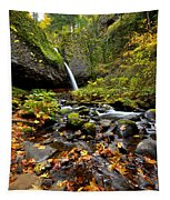 Autumn Horsetail  Tapestry