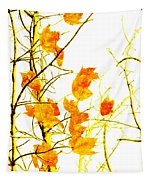 Autumn Leaves Abstract Tapestry