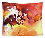Autumn On Planet Goodaboom Tapestry