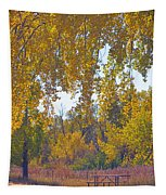 Autumn Picnic Spot Tapestry