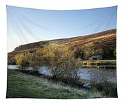 Autumn Pond 6 Tapestry
