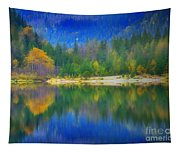 Autumn Reflected 2 Tapestry