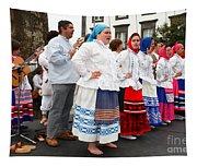 Azorean Folk Music Group Tapestry