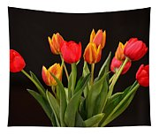 Baby Tulips Tapestry