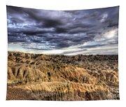 Badlands Of South Dakota Tapestry