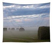 Bails In Fog Tapestry