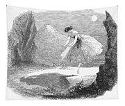 Ballet: Ondine, 1843 Tapestry