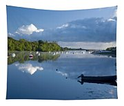 Ballina, Co Mayo, Ireland Morning Tapestry