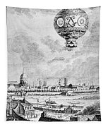 Balloon Flight, 1783 Tapestry