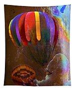 Balloon Racing Tapestry